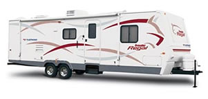 travel trailer renting